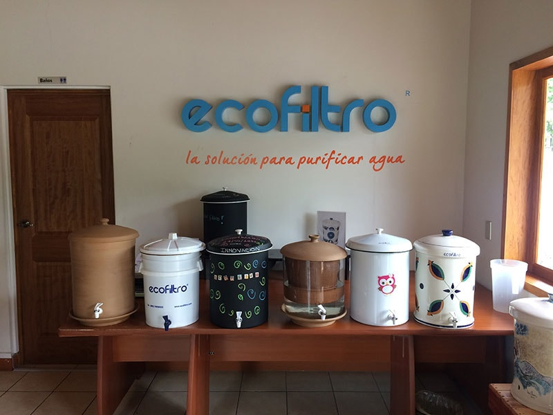 Ecofiltro is saving lives in Guatamala