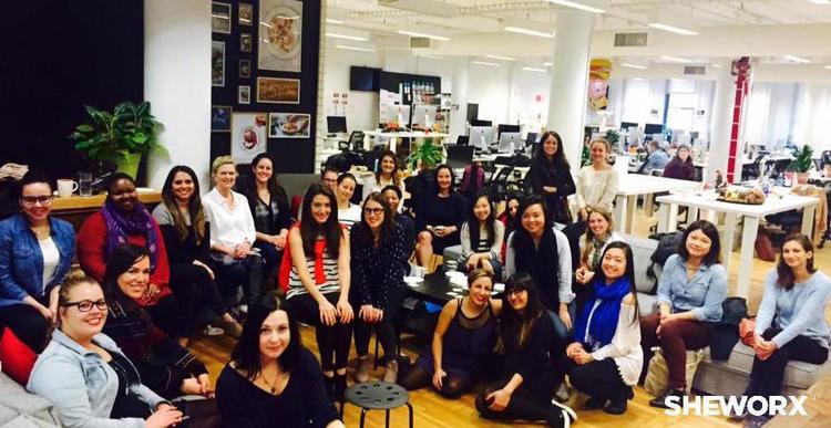 SheWorx Breakfast with Plated's female leadership team.