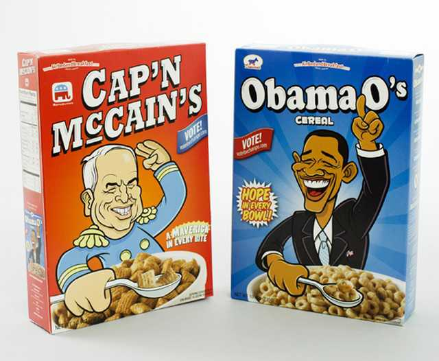 Captain McCains vs Obama O's