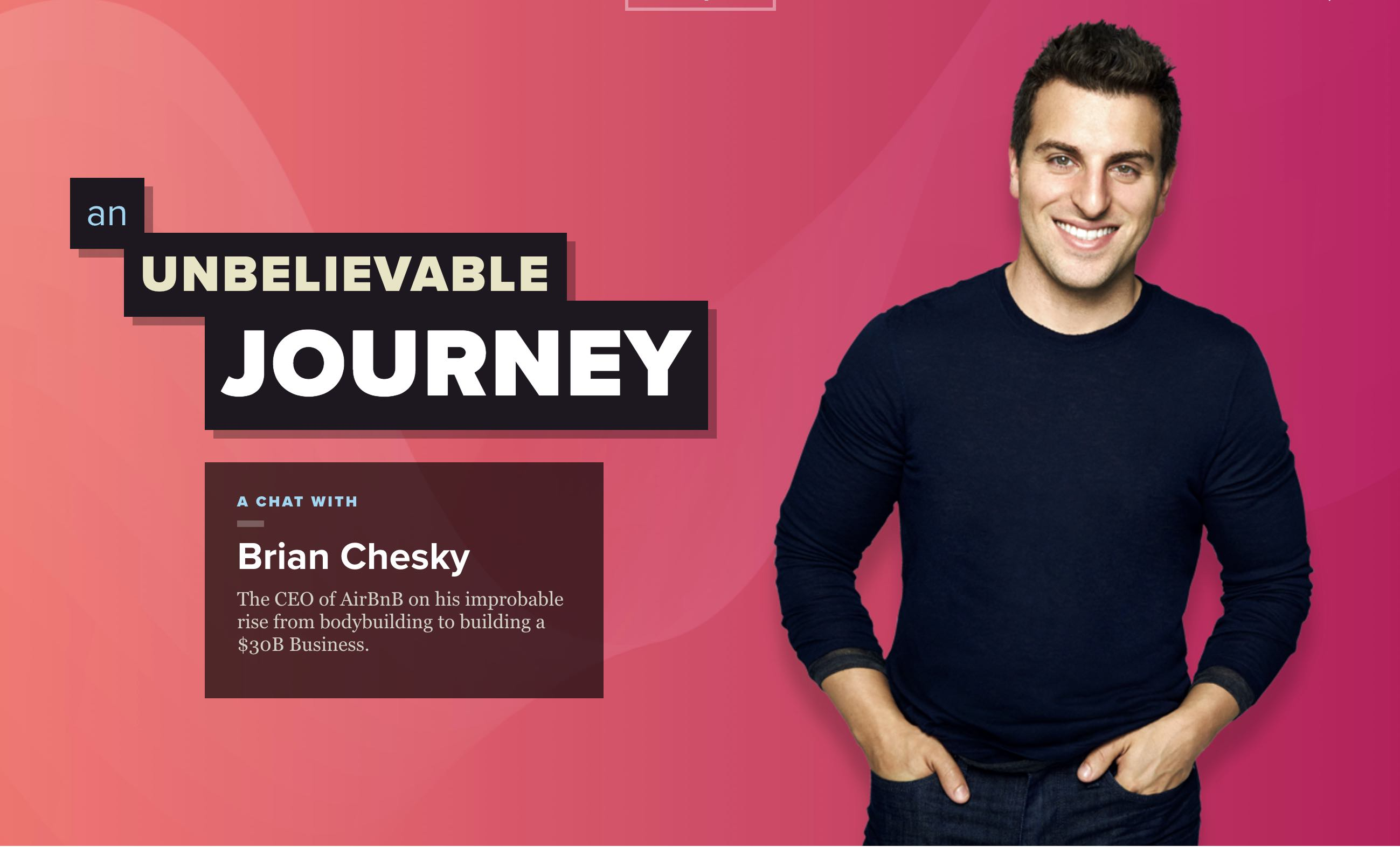 interview with brian chesky  airbnb ceo