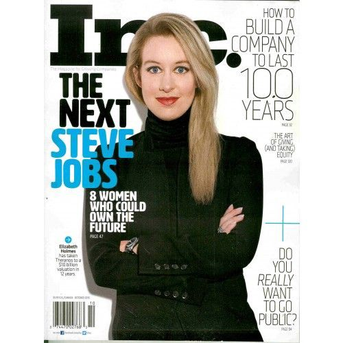 Are you the next Steve Jobs, or the next Theranos?