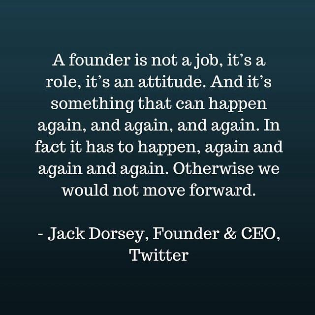 Employee Motivation: Jack Dorsey Quote