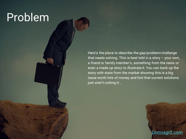 Problem Statement Slide