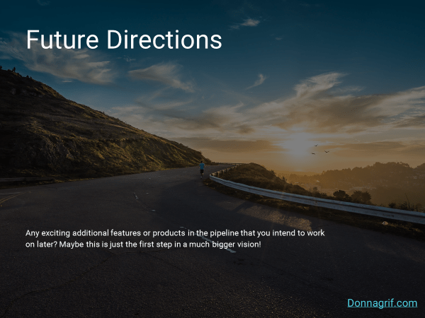 Future Directions Slide