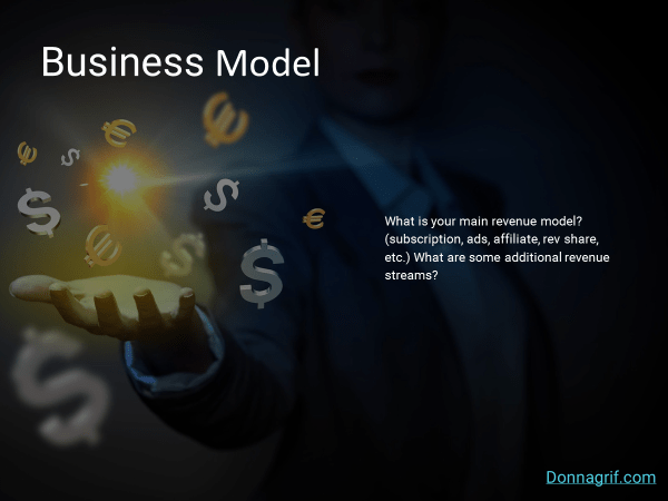 Business Model Slide