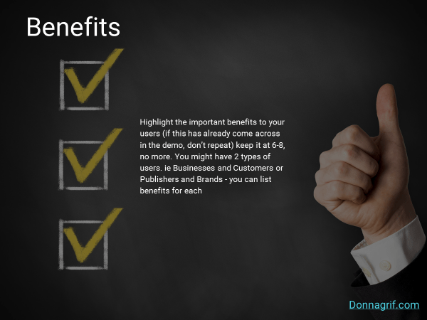 Benefits Slide