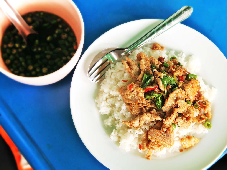 Bangkok Street Market Food