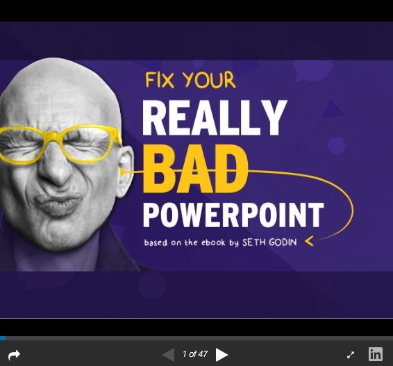 Seth Godin-based Slideshare Presentation