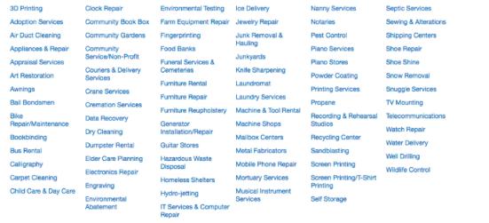 managed marketplace list
