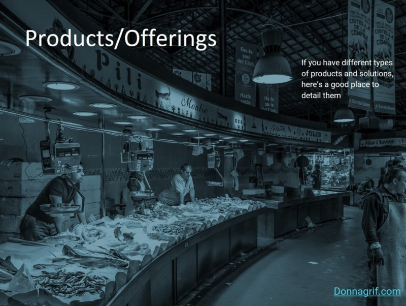 Products - Sales Deck