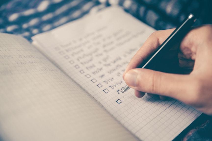 business to do list startup tasks