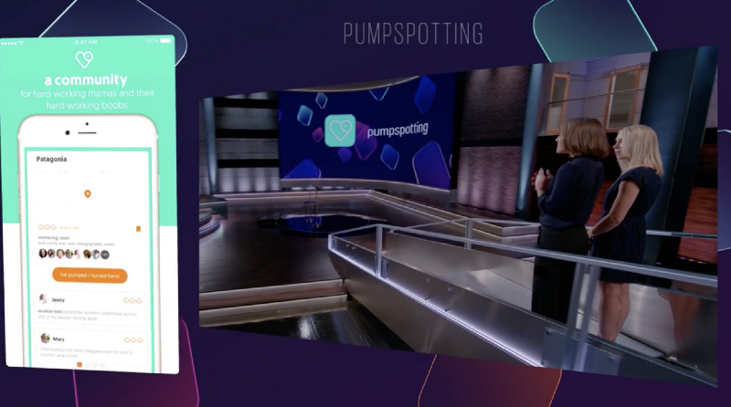Pitching our pumpspotting app on Planet of the Apps
