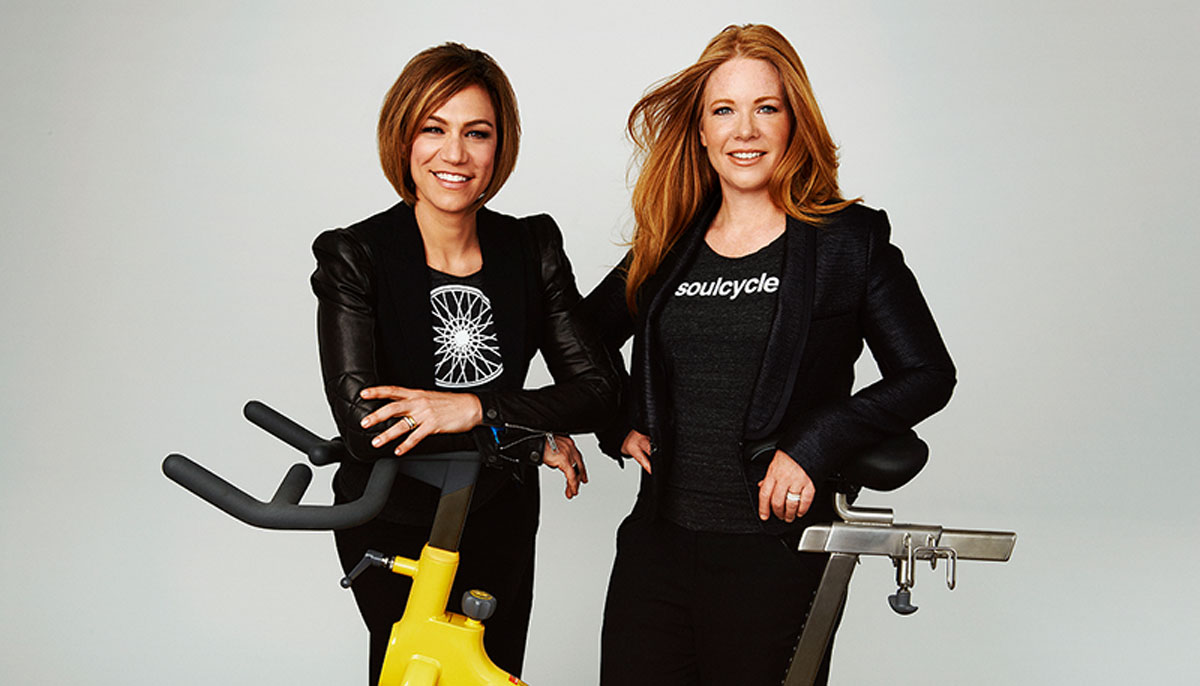 Julie Rice and Elizabeth Cutler, Founders of SoulCycle