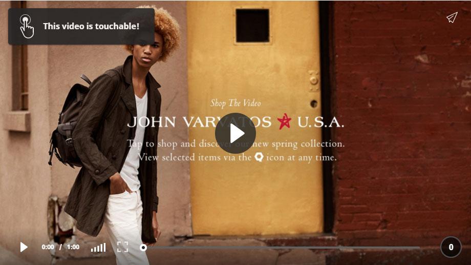 John Varvatos Star U.S.A. video