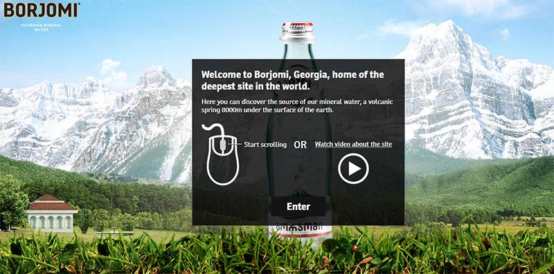 Borjomi Website