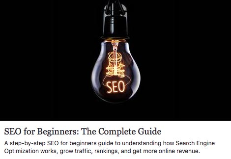 Related link to SEO for Beginners: The Complete Guide