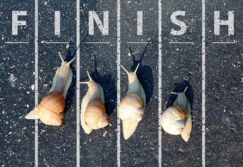 Start Slower, Finish Faster